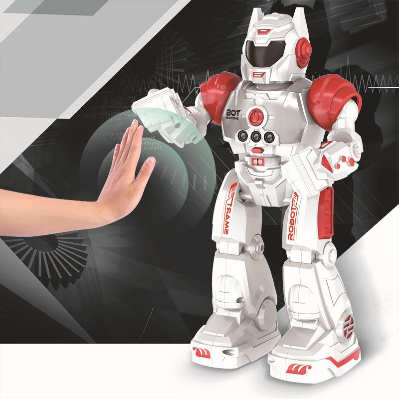 2X-Robot-de-Deteccion-de-Gestos-Modelo-de-Juguete-Control-Remoto-Inalambric-D3I9 miniatura 9