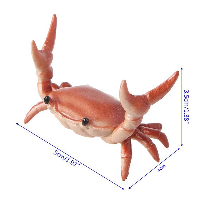 2X-New-Creative-Cute-Crab-Pen-Holder-Weightlifting-Crabs-Pen-Holder-BracketW3D5 thumbnail 4