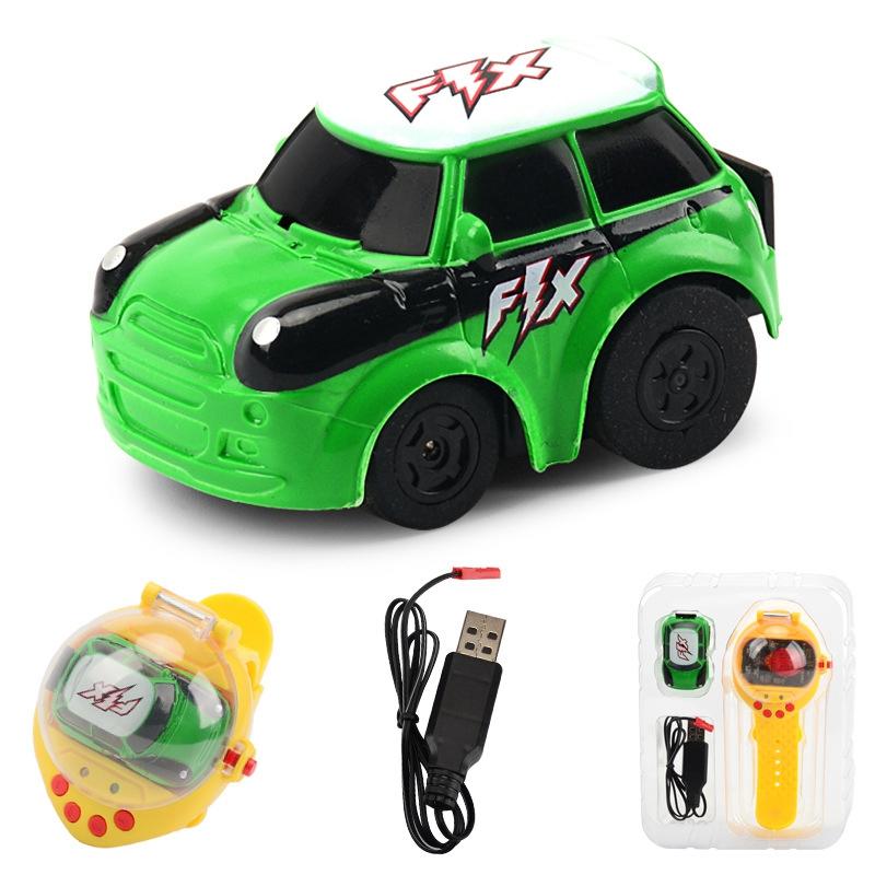 2-4G-Gravity-Induction-Watch-Control-Remoto-Racing-Car-Children-039-S-Control-A5H8 miniatura 4