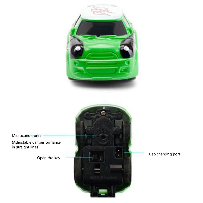 2-4G-Gravity-Induction-Watch-Control-Remoto-Racing-Car-Children-039-S-Control-A5H8 miniatura 6
