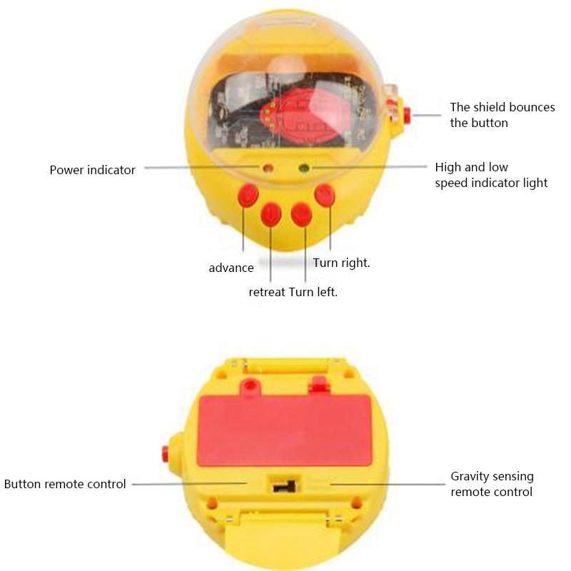 2-4G-Gravity-Induction-Watch-Control-Remoto-Racing-Car-Children-039-S-Control-A5H8 miniatura 8
