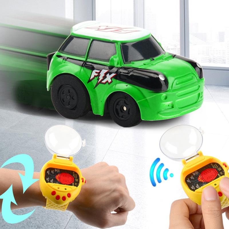2-4G-Gravity-Induction-Watch-Control-Remoto-Racing-Car-Children-039-S-Control-A5H8 miniatura 10