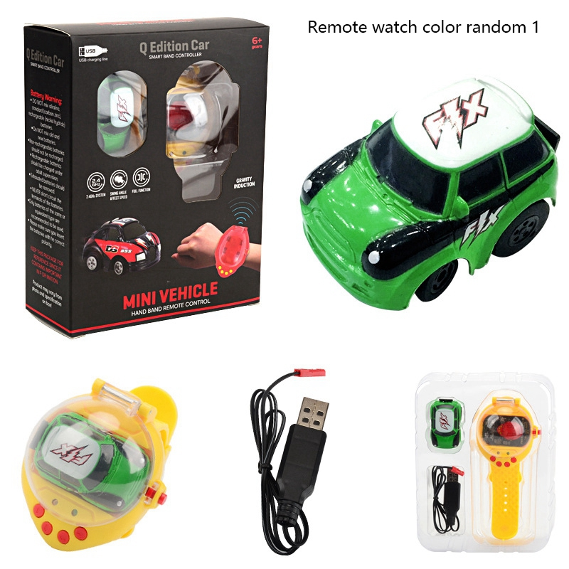 2-4G-Gravity-Induction-Watch-Control-Remoto-Racing-Car-Children-039-S-Control-A5H8 miniatura 11