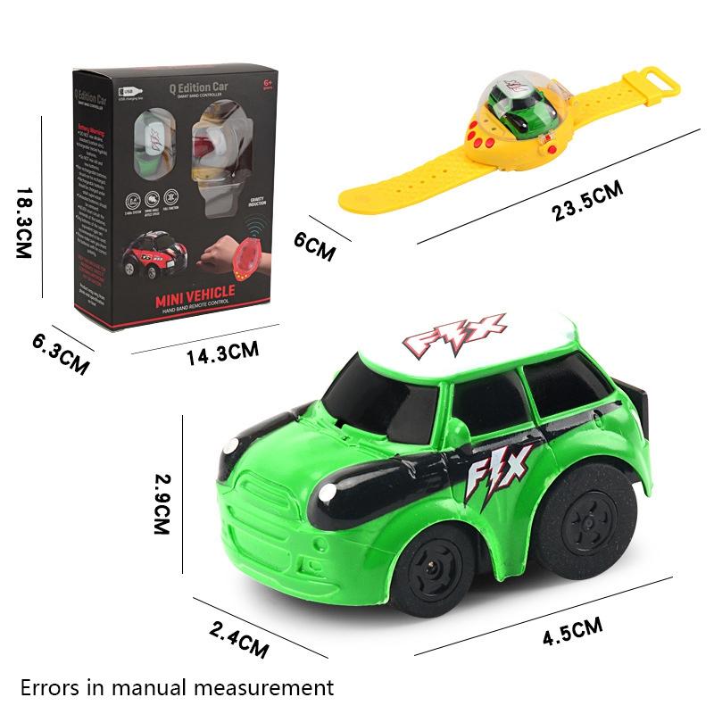 2-4G-Gravity-Induction-Watch-Control-Remoto-Racing-Car-Children-039-S-Control-A5H8 miniatura 16