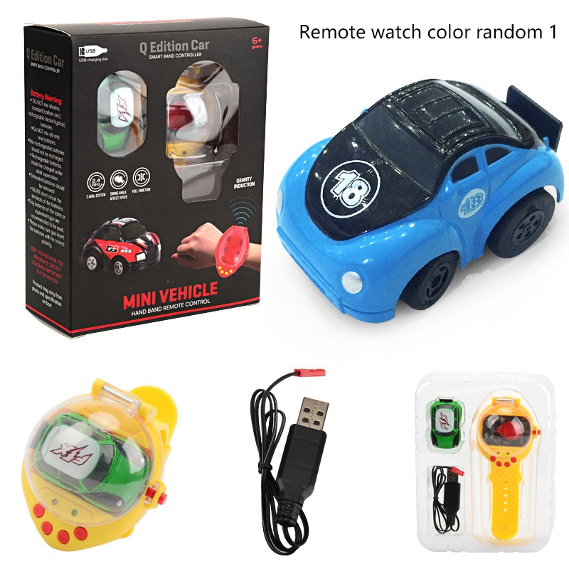 2-4G-Gravity-Induction-Watch-Control-Remoto-Racing-Car-Children-039-S-Control-A5H8 miniatura 29