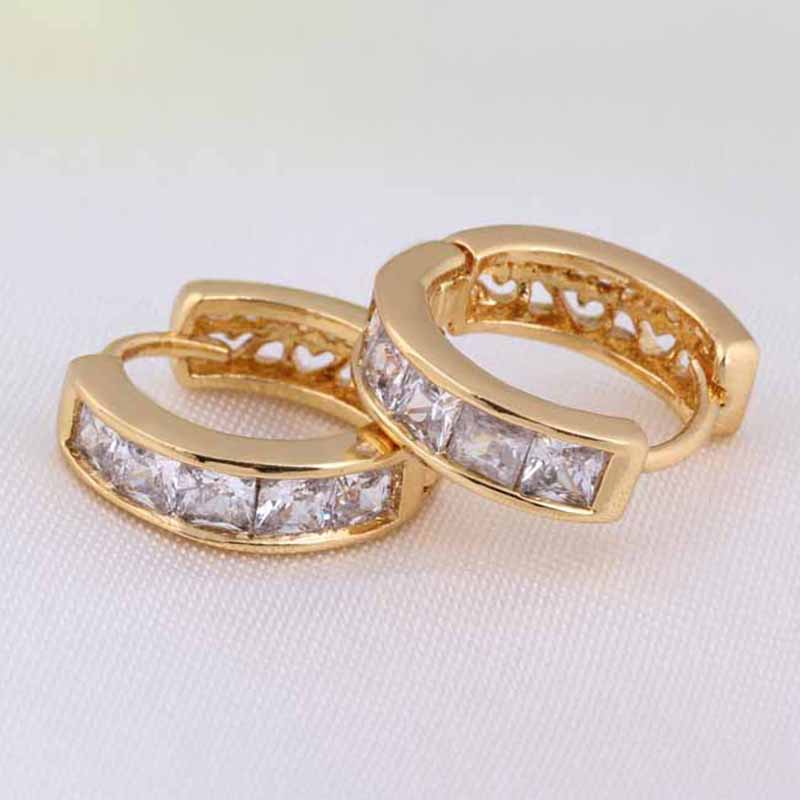 1X-Fashion-Classic-Micro-Inlaid-Zircon-Crystal-European-Women-Simple-Round-C4M8 thumbnail 9
