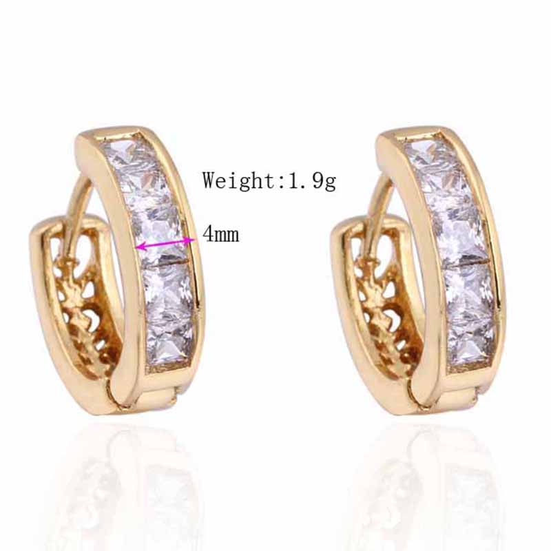 1X-Fashion-Classic-Micro-Inlaid-Zircon-Crystal-European-Women-Simple-Round-C4M8 thumbnail 12