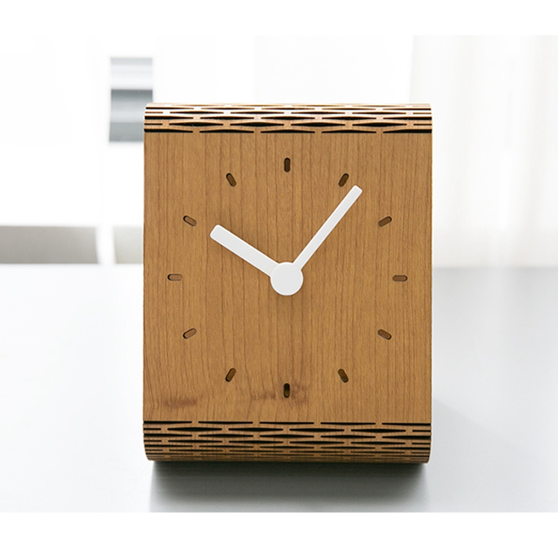 Minimaliste-Salon-Horloge-Europeenne-Table-Tenture-Murale-Pendule-de-Table-Z6D5 miniature 6