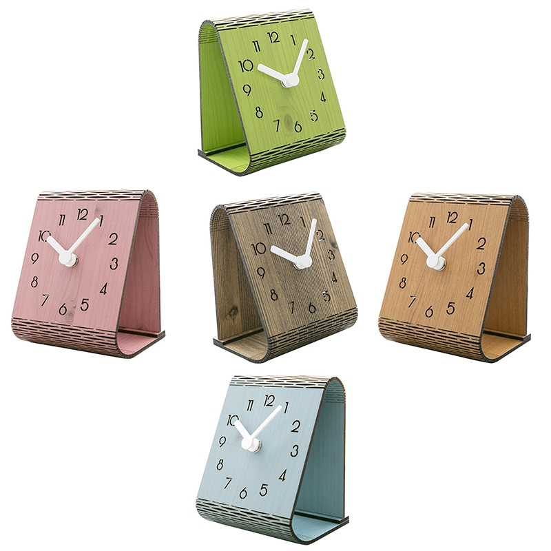 Minimaliste-Salon-Horloge-Europeenne-Table-Tenture-Murale-Pendule-de-Table-Z6D5 miniature 8