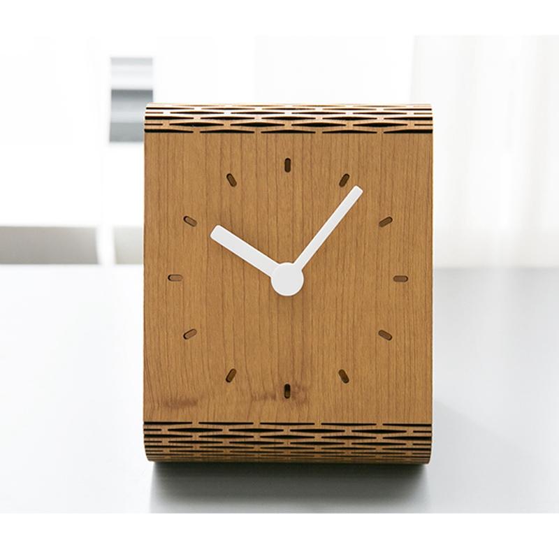 2X-Minimaliste-Salon-Horloge-Europeenne-Table-Tenture-Murale-Pendule-de-Tab-C7R2 miniature 13