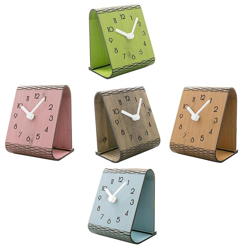 2X-Minimaliste-Salon-Horloge-Europeenne-Table-Tenture-Murale-Pendule-de-Tab-C7R2 miniature 15