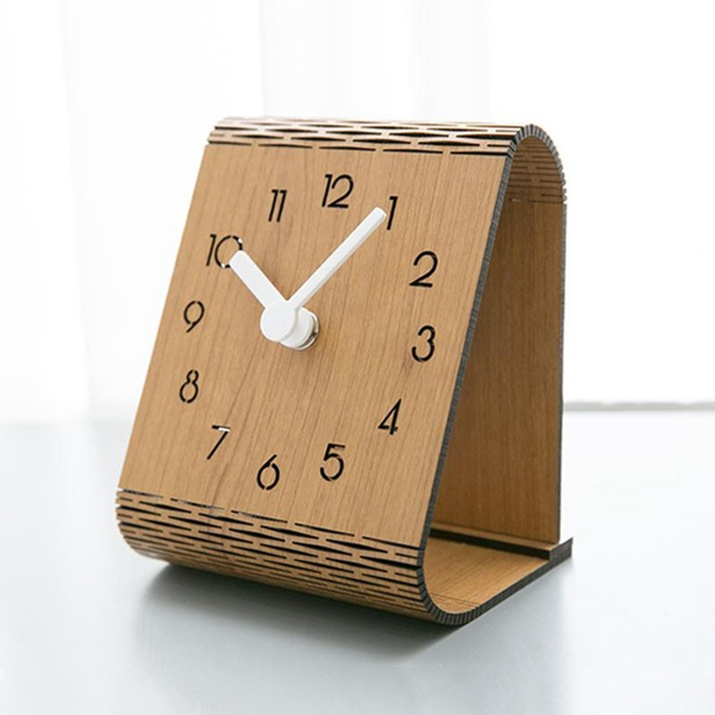 Minimaliste-Salon-Horloge-Europeenne-Table-Tenture-Murale-Pendule-de-Table-Z6D5 miniature 10