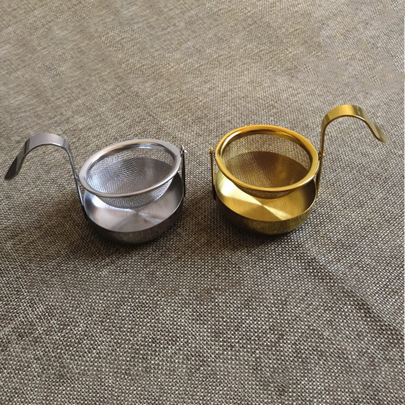 thumbnail 12 - Stainless-Steel-Rotating-Fine-Tea-Mesh-Tea-Strainer-Tea-Infuser-With-Handle-M8Z9