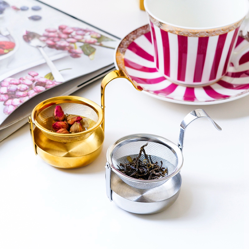 thumbnail 13 - Stainless-Steel-Rotating-Fine-Tea-Mesh-Tea-Strainer-Tea-Infuser-With-Handle-M8Z9