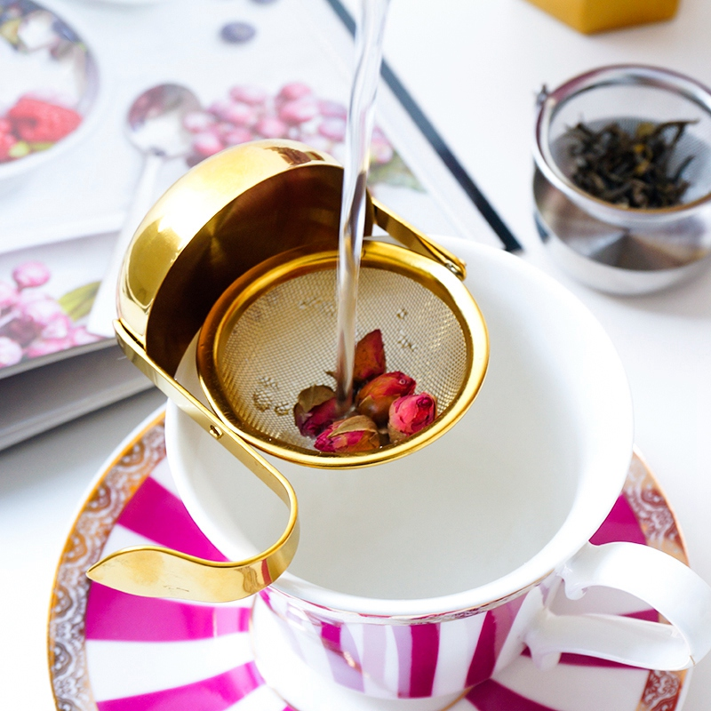 thumbnail 14 - Stainless-Steel-Rotating-Fine-Tea-Mesh-Tea-Strainer-Tea-Infuser-With-Handle-M8Z9