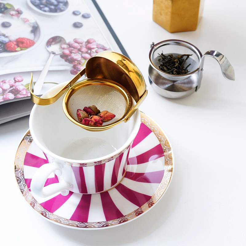 thumbnail 15 - Stainless-Steel-Rotating-Fine-Tea-Mesh-Tea-Strainer-Tea-Infuser-With-Handle-M8Z9