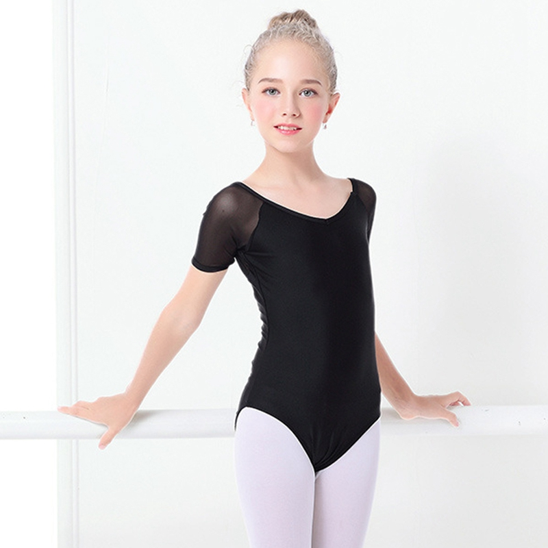 2X-Ballet-Leotards-For-Girls-Children-039-S-Dance-Costumes-Practice-Clothes-B-S4Q4 thumbnail 4