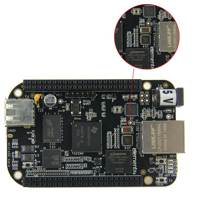 Hueso-Beagle-Negro-Bb-Black-Rev-C-4Gb-Emmc-Am335X-Cortex-A8-Plataforma-de-D-D7P8 miniatura 6