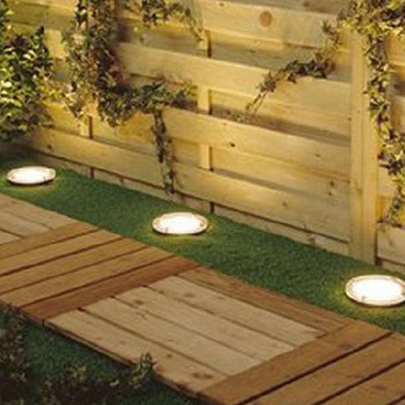 Lampes-Solaires-3-Led-sur-L-039-Eclairage-Solaire-3-Led-Enterre-Lumiere-Lumiere-L7I8 miniature 7