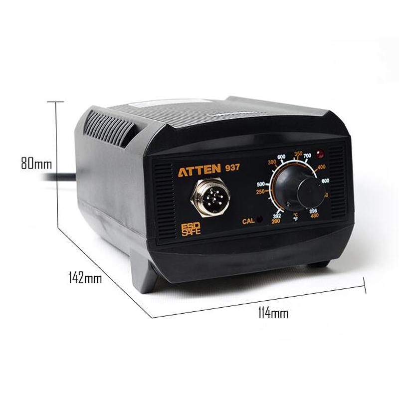 ATTEN-AT937-220V-Industrial-Grade-Anti-Static-Soldering-Station-Constant-Tempera thumbnail 5