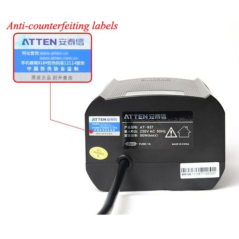 ATTEN-AT937-220V-Industrial-Grade-Anti-Static-Soldering-Station-Constant-Tempera thumbnail 7