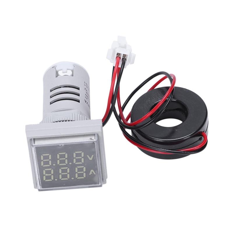 Led-Digital-Dual-Display-Voltmeter-Amperemeter-Voltage-Gauge-Meter-Ac-60-M9D5 Indexbild 12