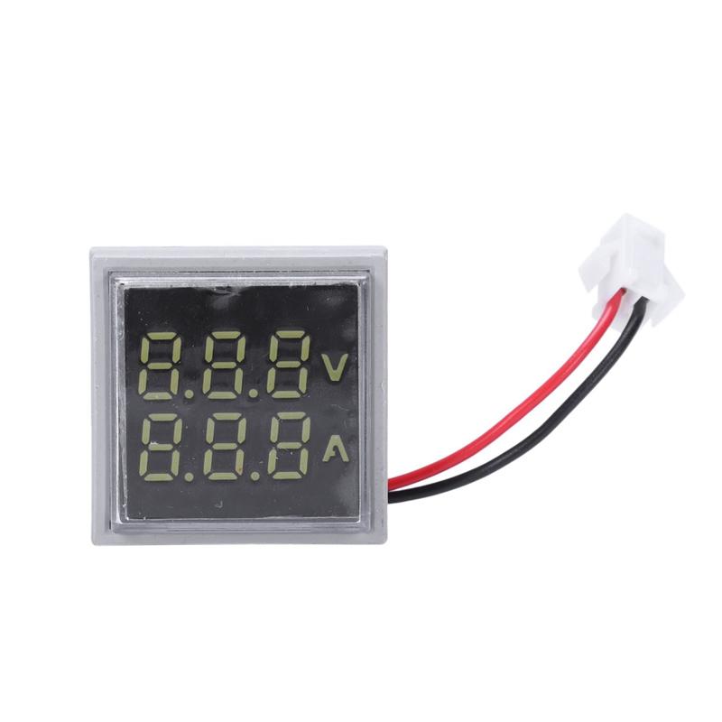 Led-Digital-Dual-Display-Voltmeter-Amperemeter-Voltage-Gauge-Meter-Ac-60-M9D5 Indexbild 14