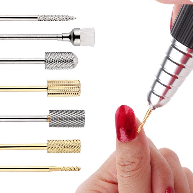1X-7Pcs-Nail-Drill-Bits-Set-Professional-Electric-Nail-File-Bit-Nail-Art-ToI9N9 thumbnail 3