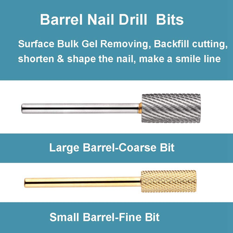 1X-7Pcs-Nail-Drill-Bits-Set-Professional-Electric-Nail-File-Bit-Nail-Art-ToI9N9 thumbnail 6