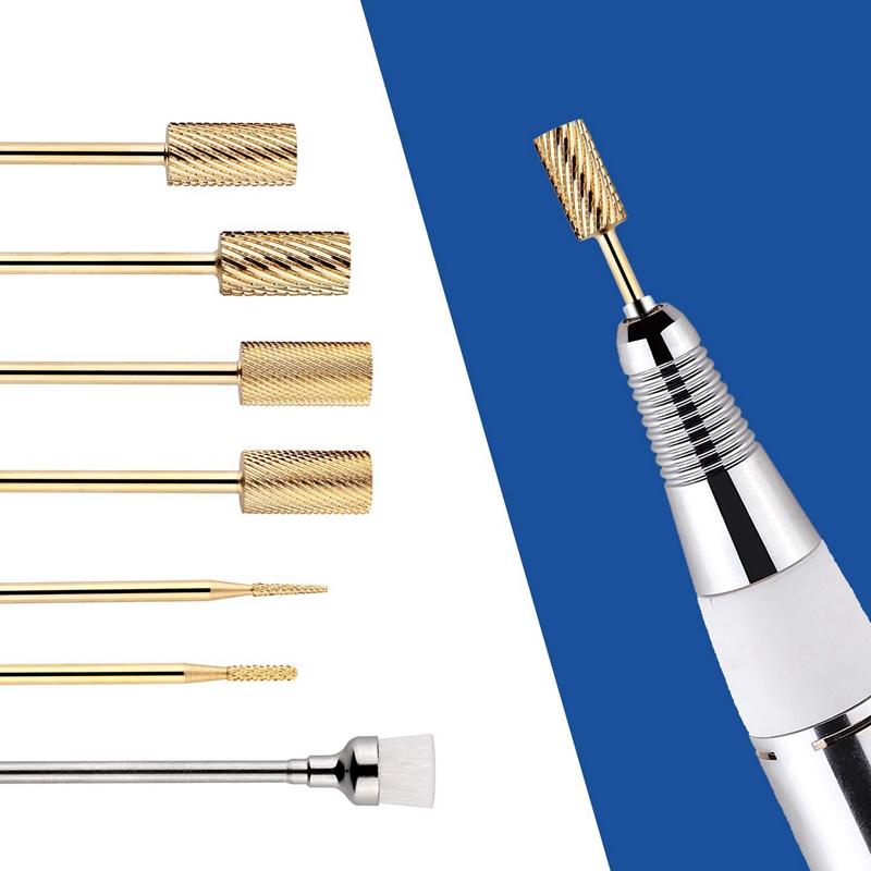 1X-7Pcs-Nail-Drill-Bits-Set-Professional-Electric-Nail-File-Bit-Nail-Art-ToI9N9 thumbnail 13