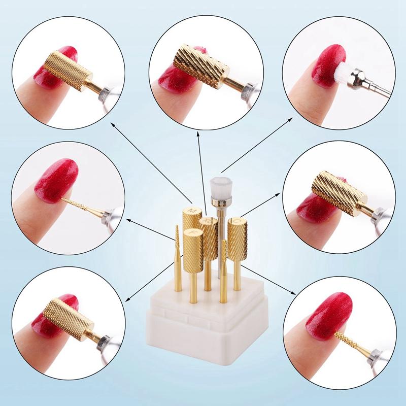 1X-7Pcs-Nail-Drill-Bits-Set-Professional-Electric-Nail-File-Bit-Nail-Art-ToI9N9 thumbnail 14