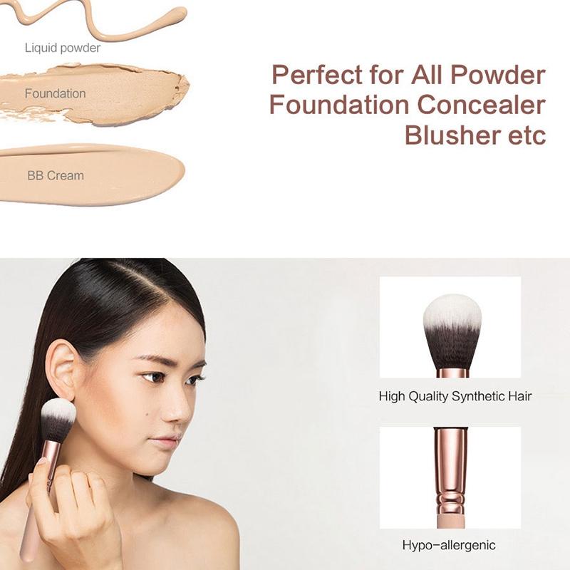 RANCAI-15-Stuecke-Rosa-Make-Up-Pinsel-Set-Pincel-Maquiagem-Pulver-Auge-Kabuk-N4M Indexbild 17