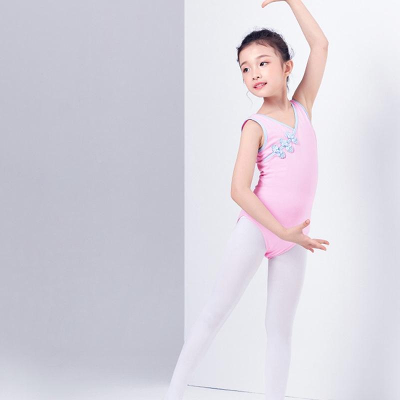 2X-Ballet-Leotards-For-Girls-Dancewear-Classical-Practice-Clothing-Buckle-B-Z2V4 thumbnail 3