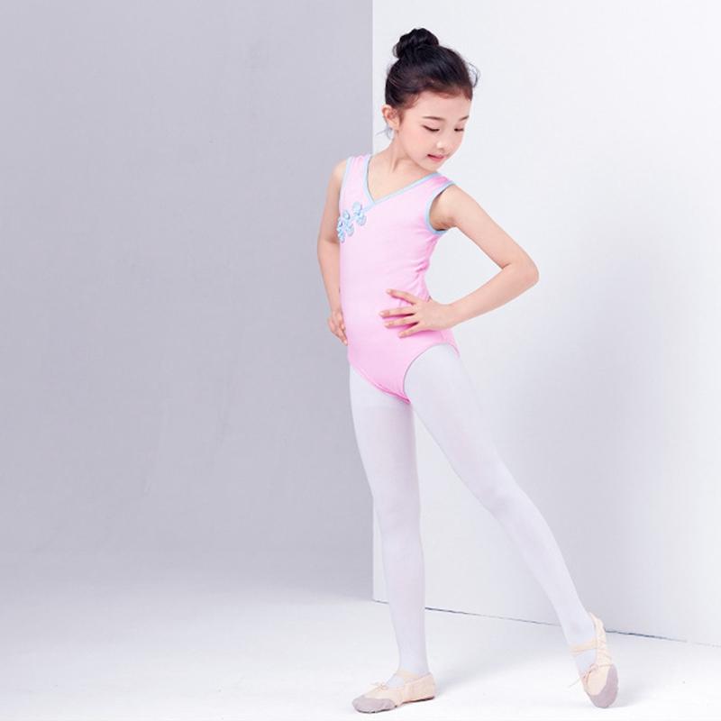 2X-Ballet-Leotards-For-Girls-Dancewear-Classical-Practice-Clothing-Buckle-B-Z2V4 thumbnail 6