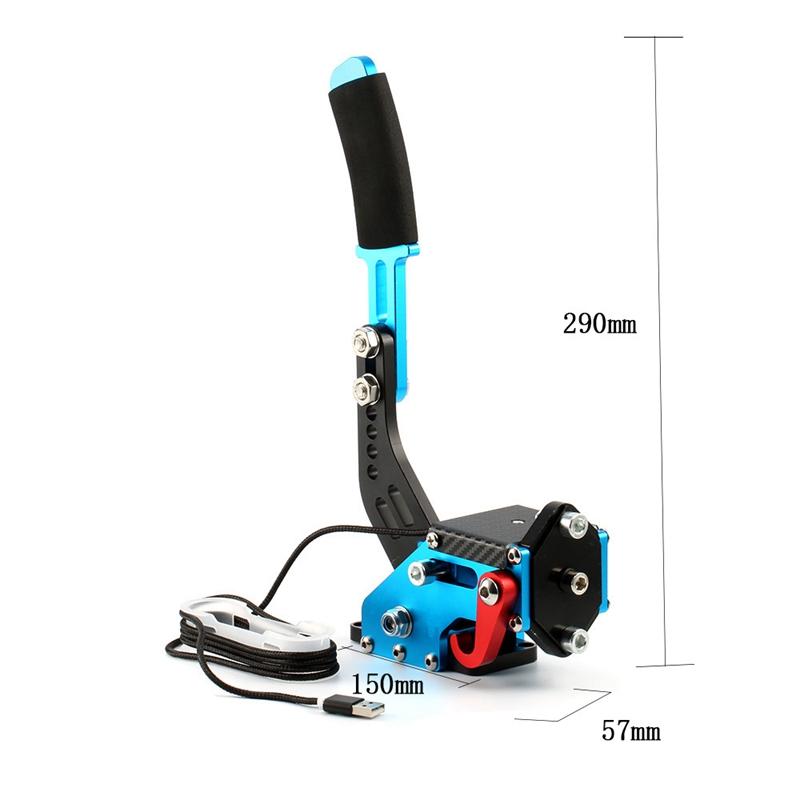 Nuevo-Logitech-Brake-sistema-de-14-bits-Hall-Sensor-USB-de-freno-de-mano-sim-para-Racing-GaR1S2 miniatura 10