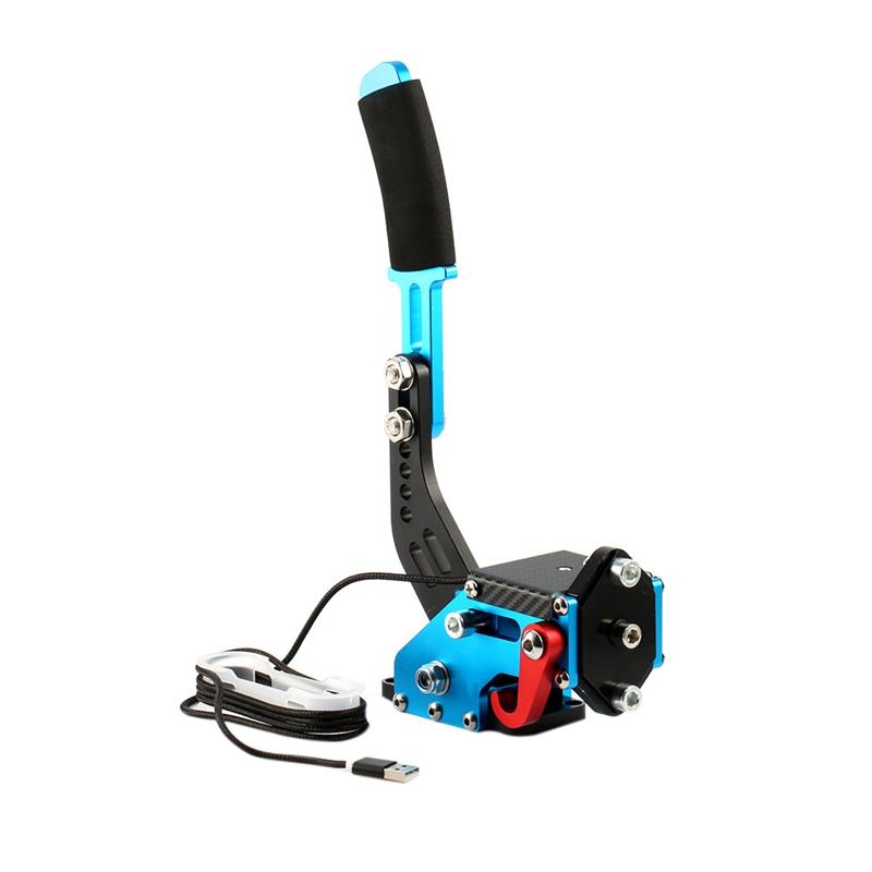 Nuevo-Logitech-Brake-sistema-de-14-bits-Hall-Sensor-USB-de-freno-de-mano-sim-para-Racing-GaR1S2 miniatura 11