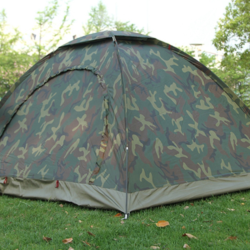thumbnail 5 - Portable Outdoor Camping Camouflage Tent Outdoor Camping Recreation Couple  J1T2