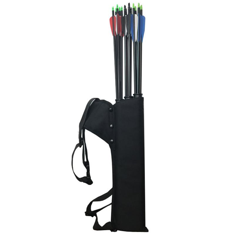 Carquois-de-Tir-a-L-039-Arc-Carquois-a-3-Tubes-Porte-Fleches-Portable-pour-le-Ti-j1y miniature 3