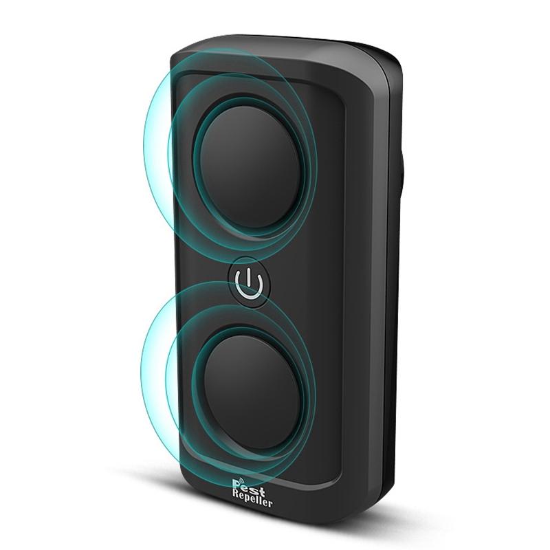 el-Mas-Nuevo-8W-de-alta-Potencia-Repelente-de-Plagas-Ultrasonico-Ultrasonic-D7L6 miniatura 3