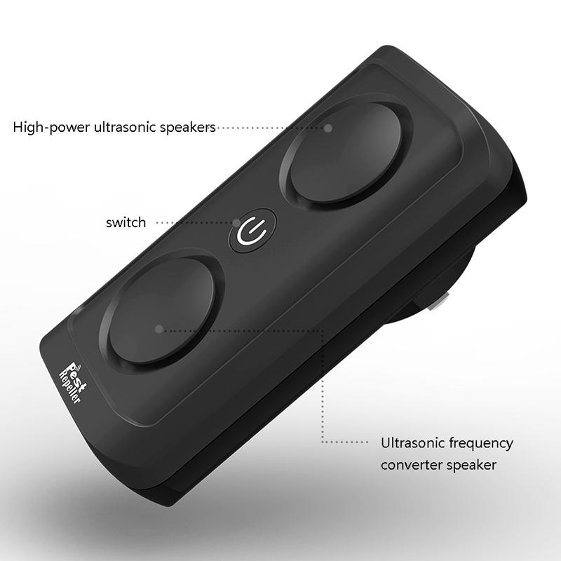el-Mas-Nuevo-8W-de-alta-Potencia-Repelente-de-Plagas-Ultrasonico-Ultrasonic-D7L6 miniatura 6