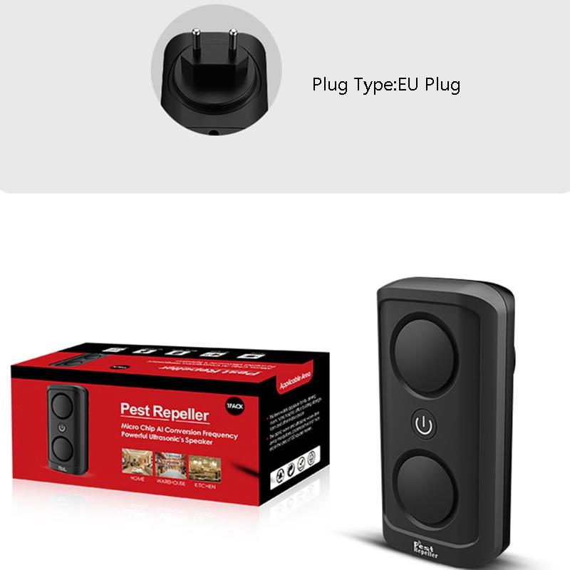 el-Mas-Nuevo-8W-de-alta-Potencia-Repelente-de-Plagas-Ultrasonico-Ultrasonic-D7L6 miniatura 7