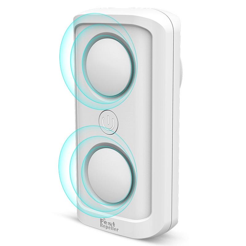 el-Mas-Nuevo-8W-de-alta-Potencia-Repelente-de-Plagas-Ultrasonico-Ultrasonic-D7L6 miniatura 12