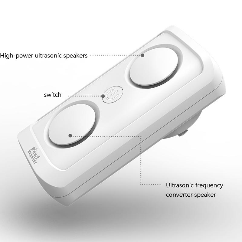 el-Mas-Nuevo-8W-de-alta-Potencia-Repelente-de-Plagas-Ultrasonico-Ultrasonic-D7L6 miniatura 14