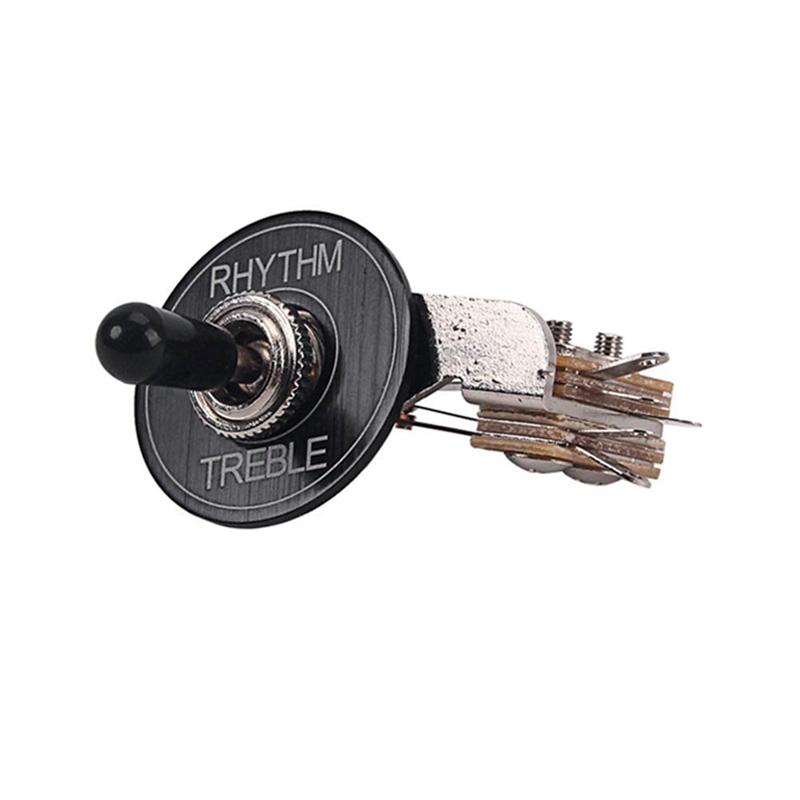 Interruptor-Selector-de-Palanca-de-3-Vias-para-Piezas-de-Repuesto-para-Guita-u2O miniatura 2