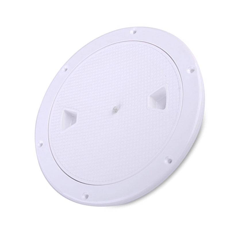 2X-4-Pouces-Rond-Serre-Aucune-Vis-Anti-Corrosif-Plaque-de-Plate-Forme-D-039-Ins-Z4U7 miniature 4