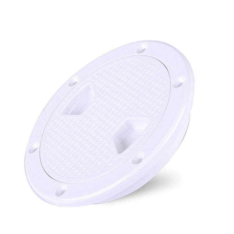 2X-4-Pouces-Rond-Serre-Aucune-Vis-Anti-Corrosif-Plaque-de-Plate-Forme-D-039-Ins-Z4U7 miniature 6