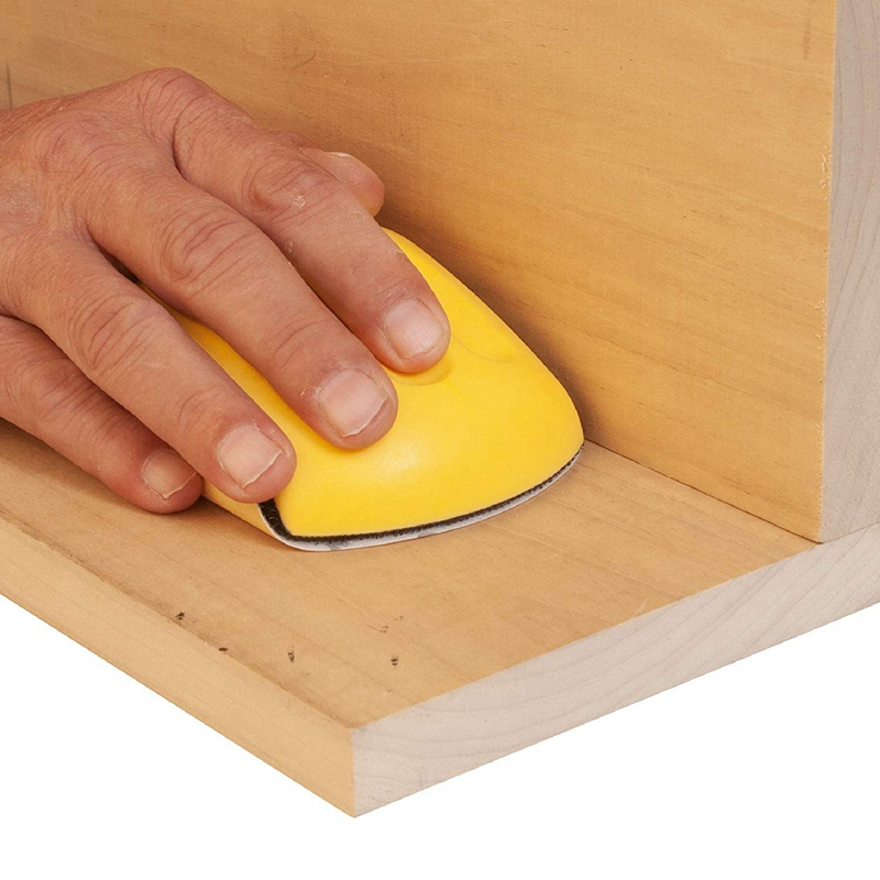 Hand-Sanding-Block-For-Hook-amp-Loop-Sandpaper-Hand-Pad-Polishing-Pad-Abrasiv-T3F6 thumbnail 4