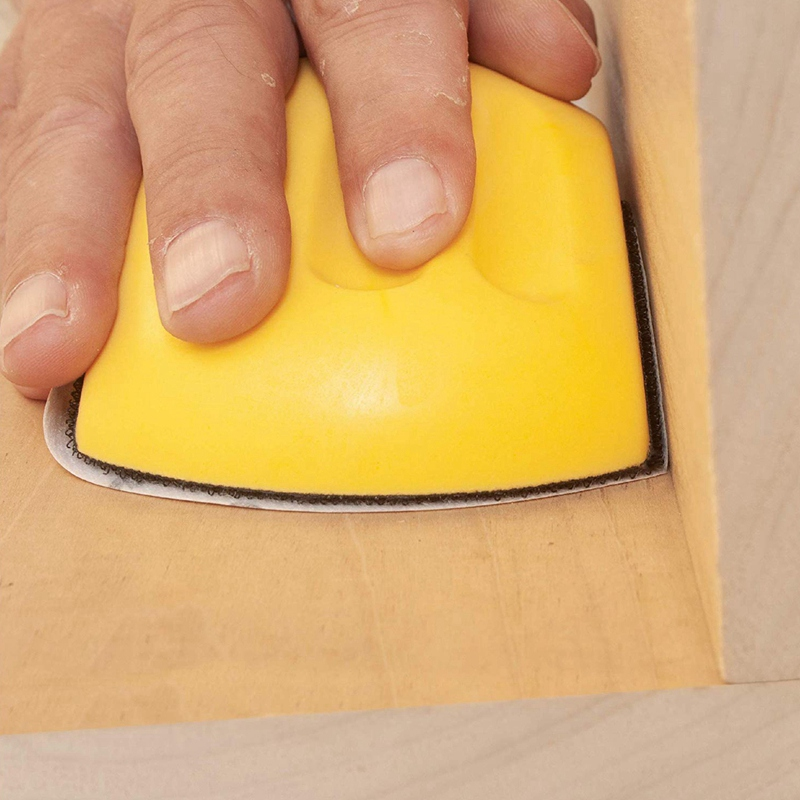 Hand-Sanding-Block-For-Hook-amp-Loop-Sandpaper-Hand-Pad-Polishing-Pad-Abrasiv-T3F6 thumbnail 5