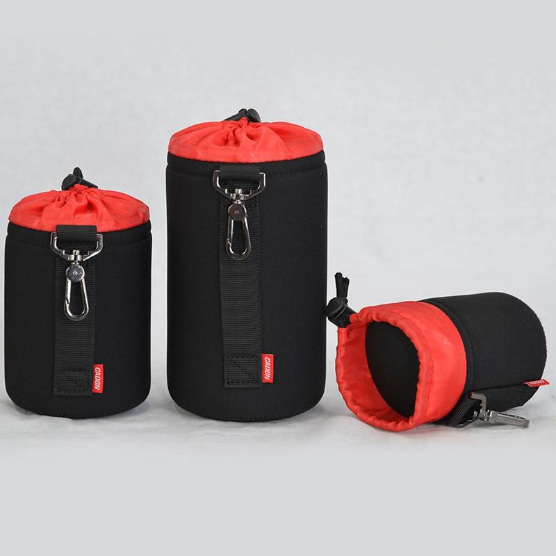 Caden-Waterproof-Padded-Protector-Camera-Lens-Bag-Case-Pouch-For-Dslr-Nikon-L2V6 thumbnail 4