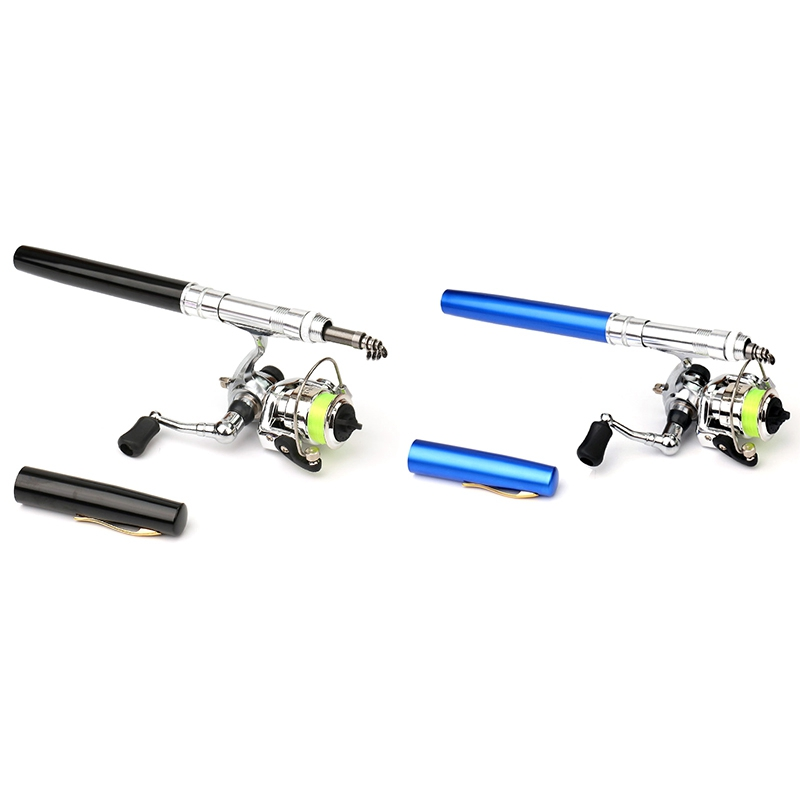 2X-Mini-Carrete-de-Pesca-2-1-Rodamientos-de-Bolas-Cebo-de-Acero-Inoxidabl-D5I9 miniatura 4